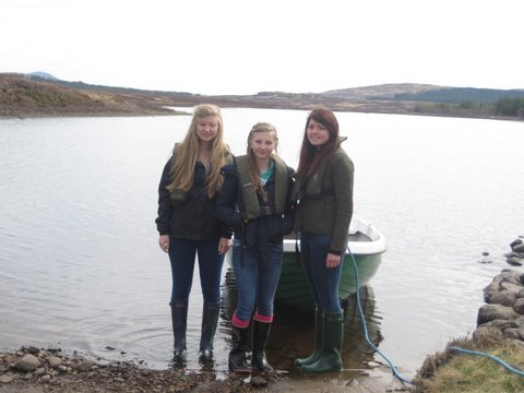 Fishing on Loch Naver