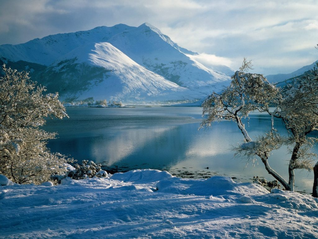 Highlands in the Snow