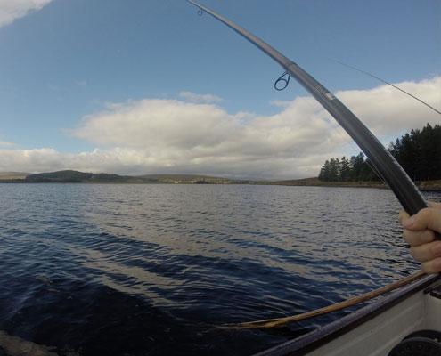 Fishing at Altnaharra Hotel