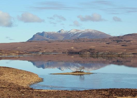 Fishing on Loch Meadie